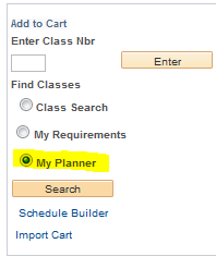 Add to Cart - My Planner