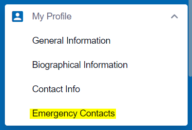 Emergency Contacts