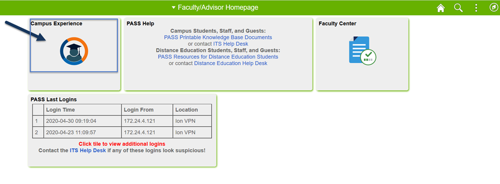 PASS Faculty Homepage Image
