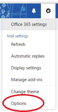 Outlook Web App Settings